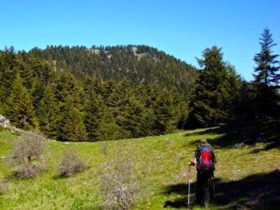 hiking tour peloponnese