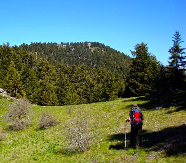 hiking tour peloponnese